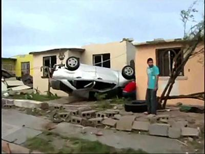 Twister kills 13 in Mexico border city; 12 missing in Texas