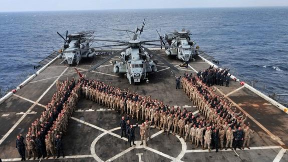 US Navy Warships Offer Aid After Superstorm Sandy