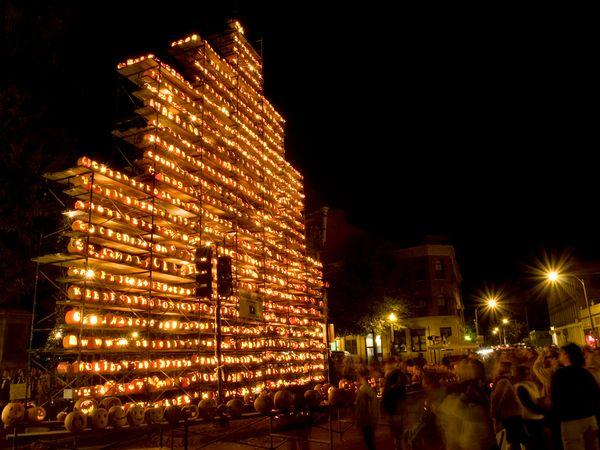 Keene Pumpkin Festival - New Hampshire, Oct. 20