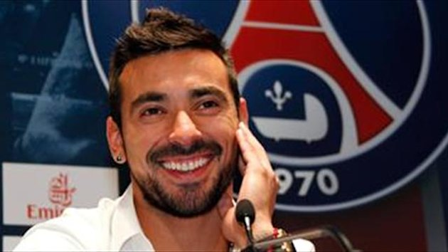 Lavezzi surprised by Verratti's class