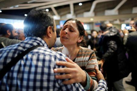 Bombed Syrian family lands in France after long visa wait