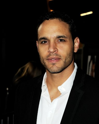 Daniel Sunjata arrives at the premiere of Summit Entertainment&#39;s &#39;Gone&#39; at the Arclight Theater, Los Angeles, on February 21, 2012 -- Getty Images