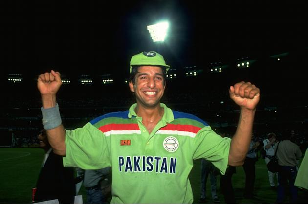 Wasim Akram of Pakistan