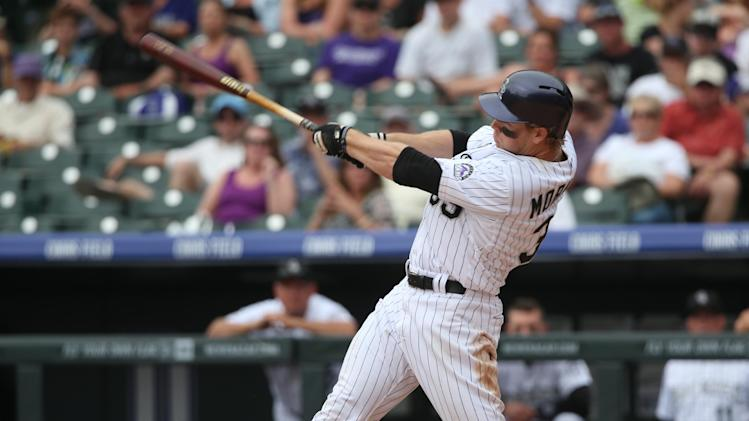 Morneau hits homer in 10th, Rox beat Padres 8-6
