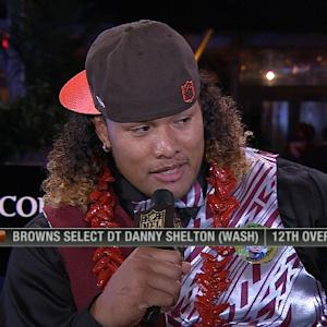 Cleveland Browns defensive tackle Danny Shelton: 'I want to bring the intimidation back to Cleveland'