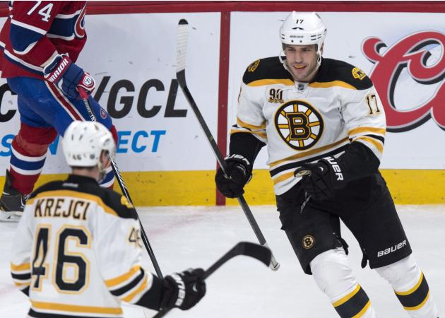 Streaking Bruins beat Canadiens 4-1