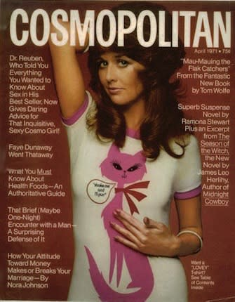 Helen Gurley Brown Made Me a Cosmo Girl