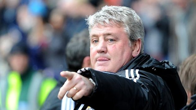 Steve Bruce, Hull City's manager (PA Photos)