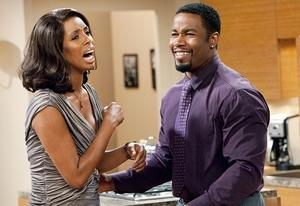 Tasha Smith and Michael Jai White | Photo Credits: Quantrell Colbert/TBS