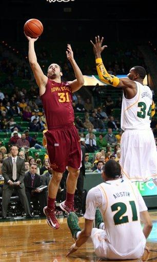 Iowa State hits 11 3-pointers, beats Baylor 87-82