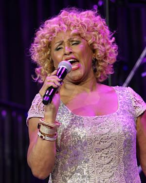 """Singer Darlene Love performs at the """"Right To Rock Benefit"""" at Cipriani Wall Street, on Thursday, Oct. 17, 2013 in New York. (Photo by Greg Allen/Invision/AP)"""