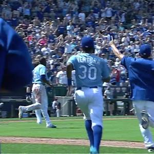 Hosmer's walk-off double