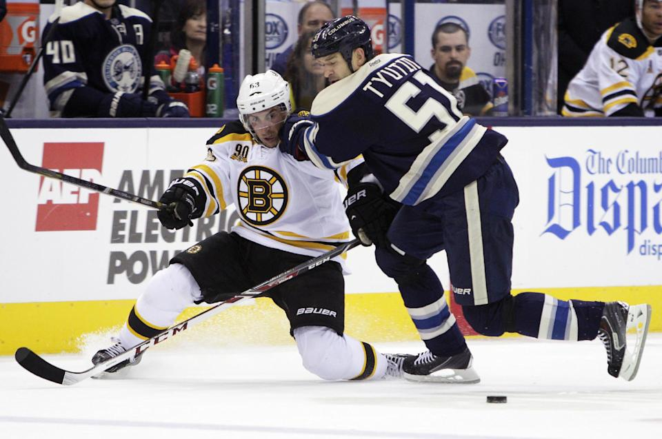 Eriksson's 1st Bruins goal gives Boston 3-1 win