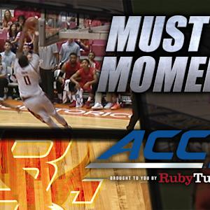 Boston College Sweet Alley-Oop Jam vs Dayton | ACC Must See Moment