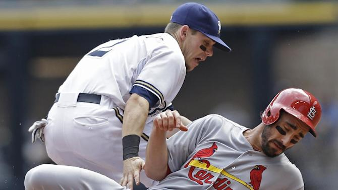 Beltran, Craig homer to lift Cards over Brewers