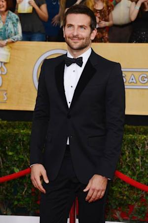 Bradley Cooper attends the 20th Annual Screen Actors Guild Awards at The Shrine Auditorium on January 18, 2014 in Los Angeles -- Getty Images