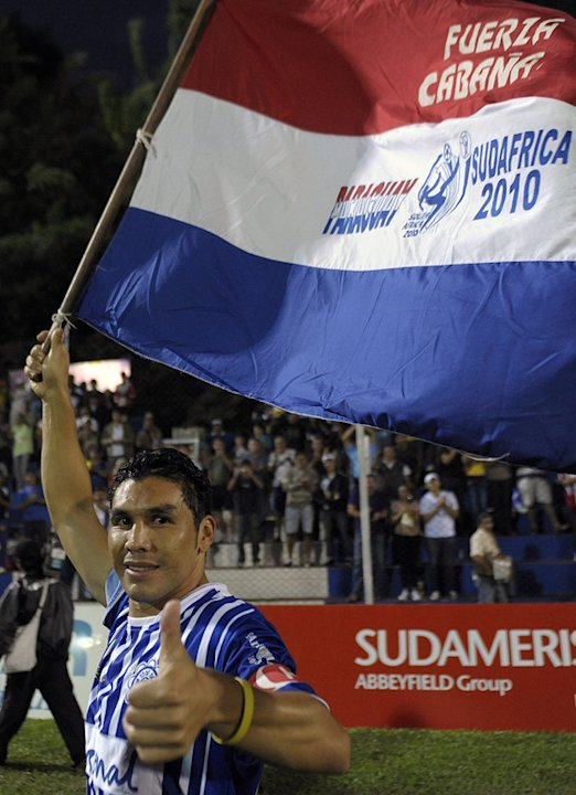 Paraguayan Footballer Salvador Cabanas Gives AFP/Getty Images