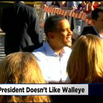 President Obama Is Not A Walleye Fan