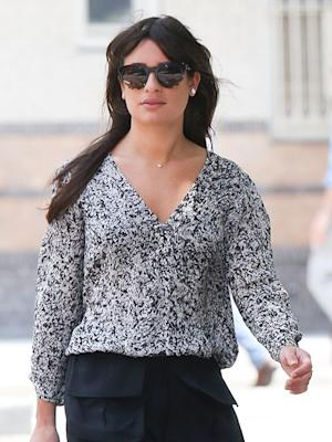 "Lea Michele Grieving Cory Monteith: It's a ""Devastating Time"""