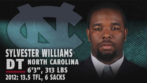 Sylvester Williams - North Carolina DT - 2013 NFL Draft Profile