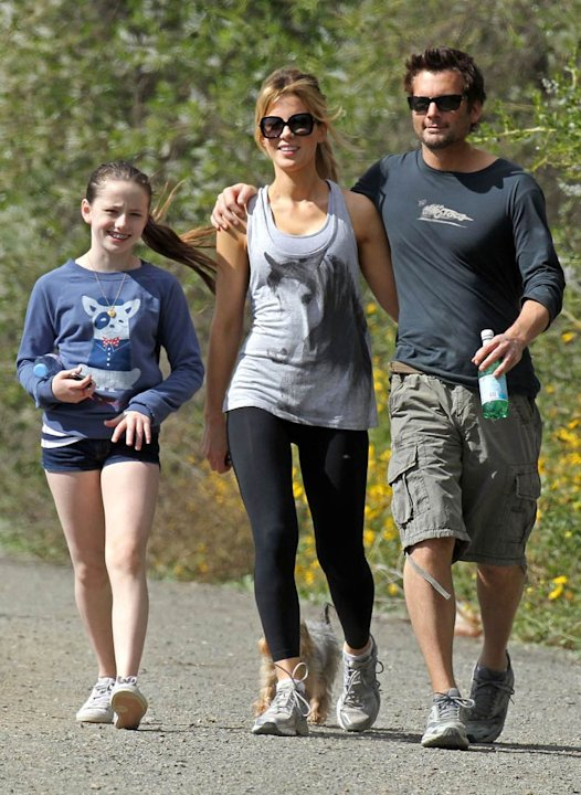 Kate Beckinsale family Hiking