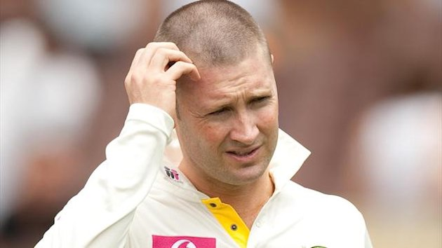 Michael Clarke's side watched India pile on the runs on day three