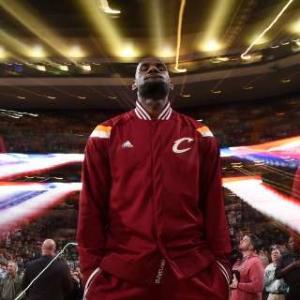 LeBron James' Pregame Dunk Show in Super Slow-Mo
