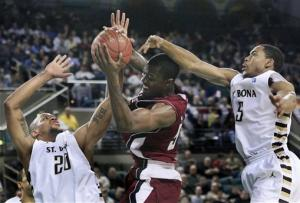 Conger scores 22 as Bonnies edge UMass in A10 semi