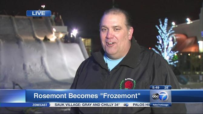 Rosemont's MB Financial Park becomes 'Frozemont'