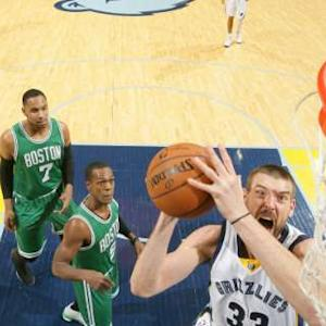 Celtics vs. Grizzlies