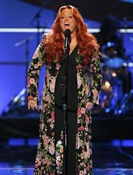 "Singer Wynonna Judd performs during the taping of the 2008 ""NCLR Alma"" awards at the Civic Auditorium in Pasadena, California, August 17, 2008. REUTERS/Mario Anzuoni/Files"