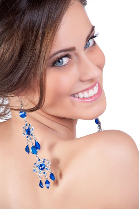"Miss Uruguay 2011, Fernanda Semino, competes for the title of Miss Universe 2011 during the ""60th Annual Miss Universe"" competition from São Paulo, Brazil."