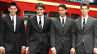 Djokovic, Nadal, Murray, Federer O2 London