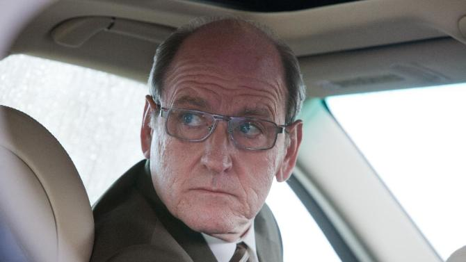 """This film image released by The Weinstein Company shows Richard Jenkins in a scene from """"Killing Them Softly."""" (AP Photo/The Weinstein Company, Melinda Sue Gordon)"""