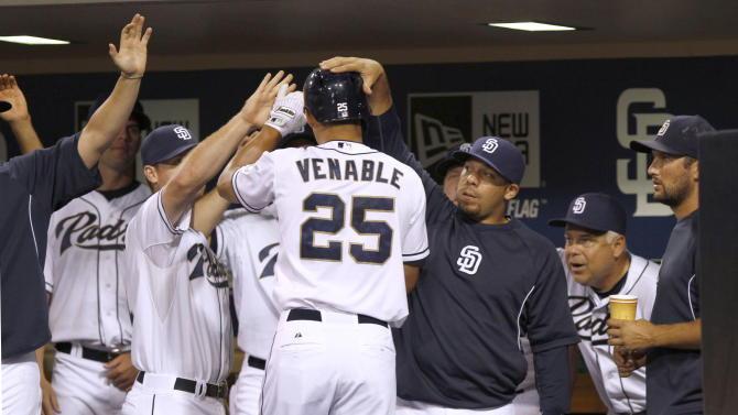 Padres rally for 4-3 win over Rockies