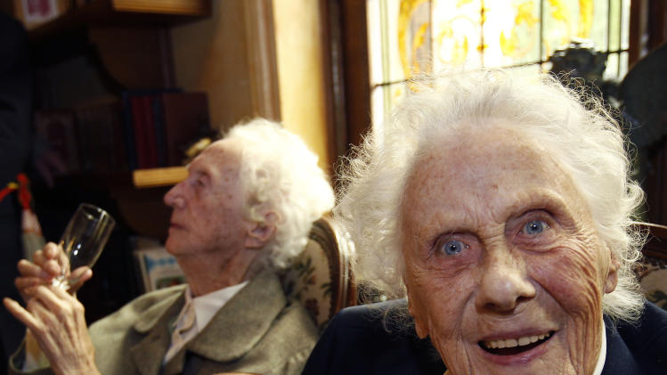 World's oldest twins