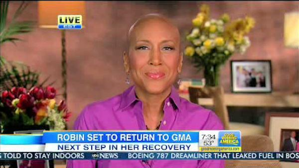 Robin Roberts announces planned return