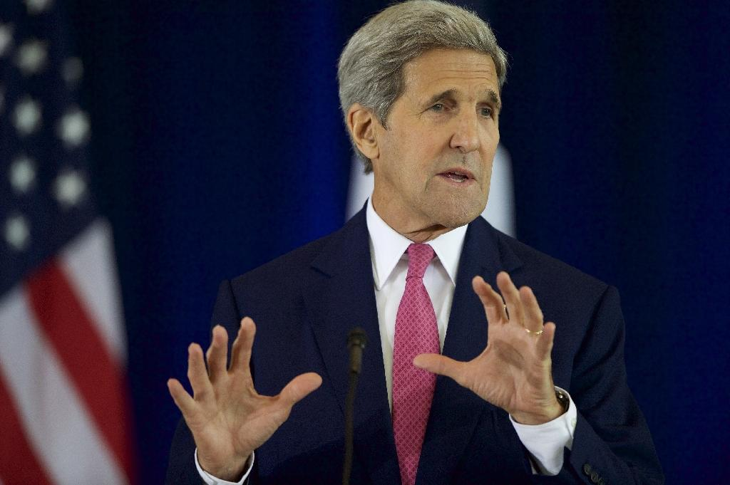 Kerry confident regional powers will send troops to Syria