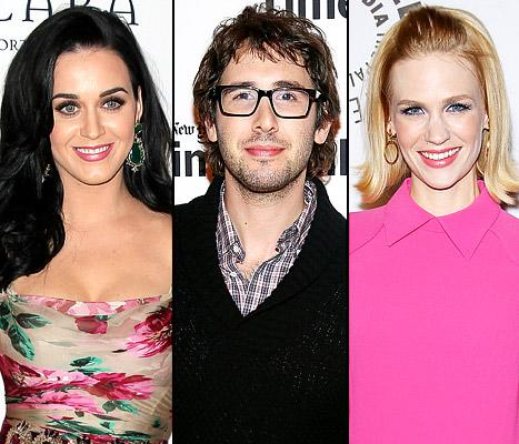 Josh Groban Addresses Katy Perry Romance Rumors, Discusses Dating January Jones