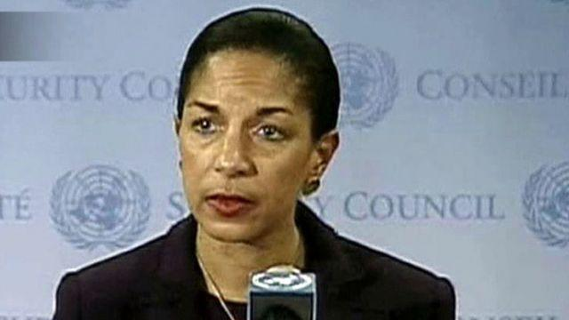 Where did Amb. Susan Rice's talking points come from?