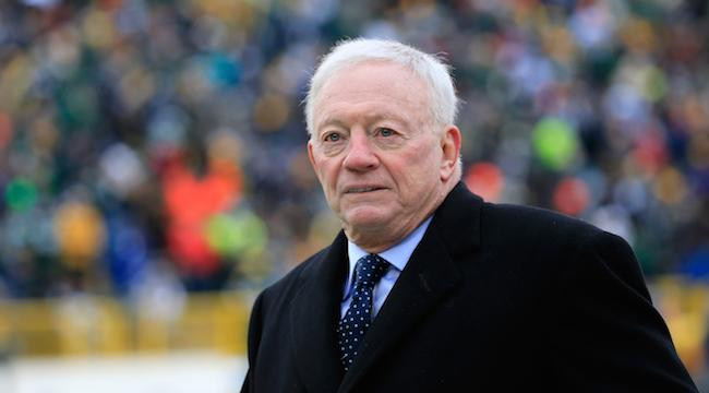 Jerry Jones Is Really Upset That The Cowboys Didn't Make It To Super Bowl 50