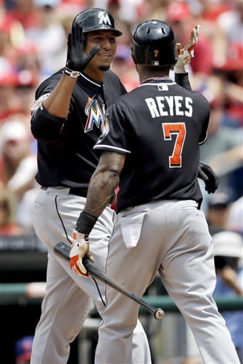 Zambrano, Ramirez homer to lead Marlins over Phils