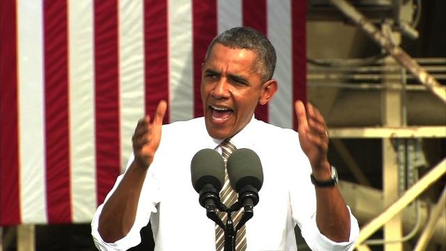Obama mocks GOP's shutdown demands