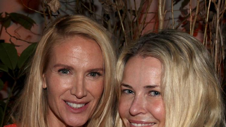 Kelly Lynch and Chelsea Handler