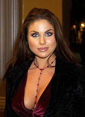 "Nadia Bjorlin of ""Days of Our Lives"" at the Westwood premiere of Shallow Hal"