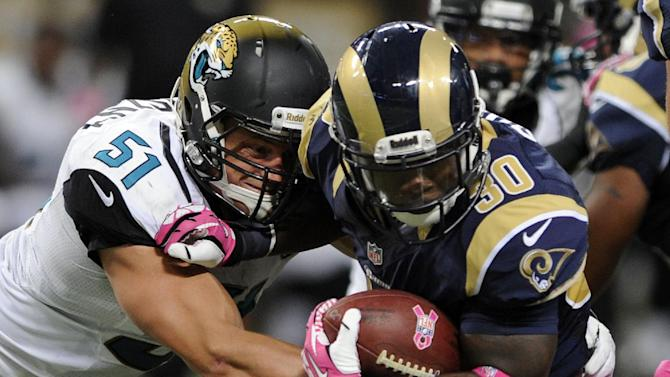 Rams hope Stacy sparks run game