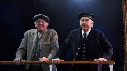 Bernie Sanders and Larry David Appear Side-By-Side on Saturday Night Live