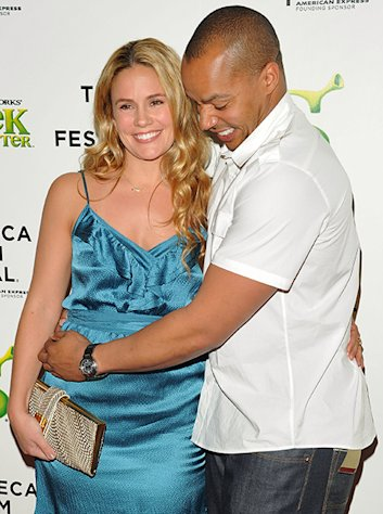 Donald Faison on His Baby With Wife Cacee Cobb: &quot;It&#39;ll Be a Really Good Human Being When It&#39;s Older&quot;