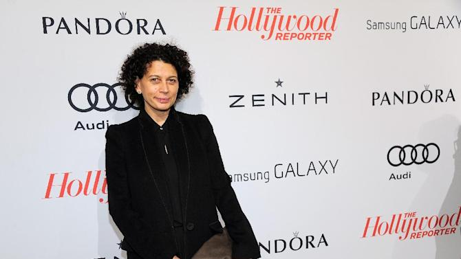Donna Langley, Universal Pictures Co-chairman, arrives at The Hollywood Reporter Nominees' Night at Spago on Monday, Feb. 4, 2013, in Beverly Hills, Calif. (Photo by Chris Pizzello/Invision for The Hollywood Reporter/AP Images)