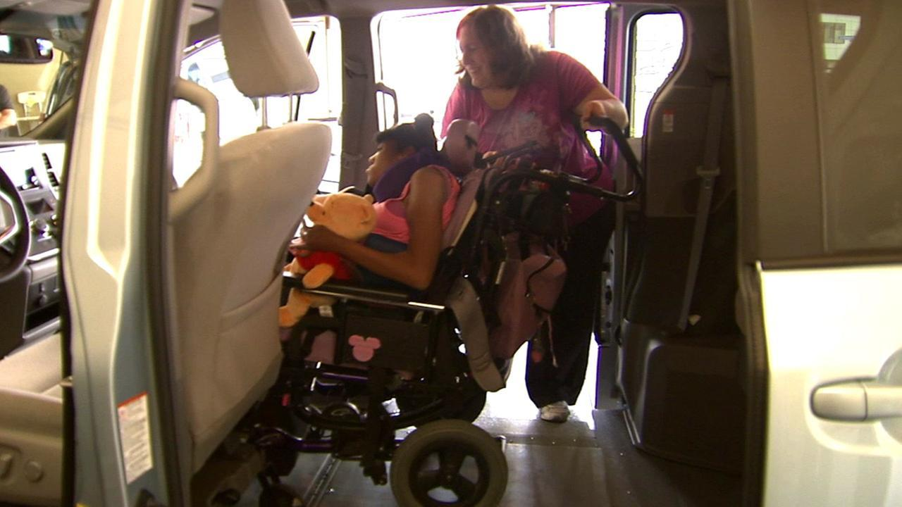Lancaster mom of child with cerebral palsy gets new wheelchair van
